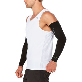 2XU Recovery Flex Arm Mouwen, black/nero